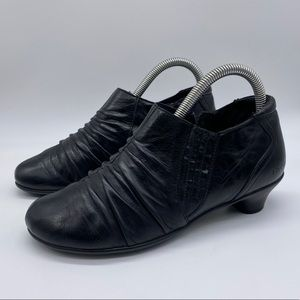 Taos Highness Leather Ankle Boots
